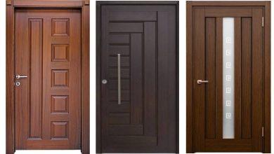 Photo of أبرز تصميمات الأبواب الخشبية 2020