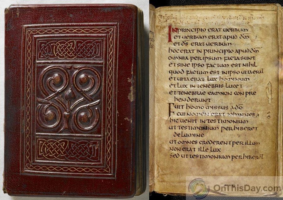 أقدم كتب في العالم : إنجيل القديس كوثبرت