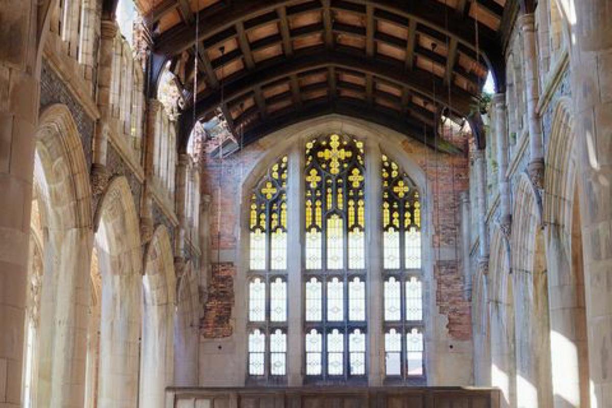 أجمل الأماكن المهجورة في العالم : الكنيسة الميثودية في إنديانا