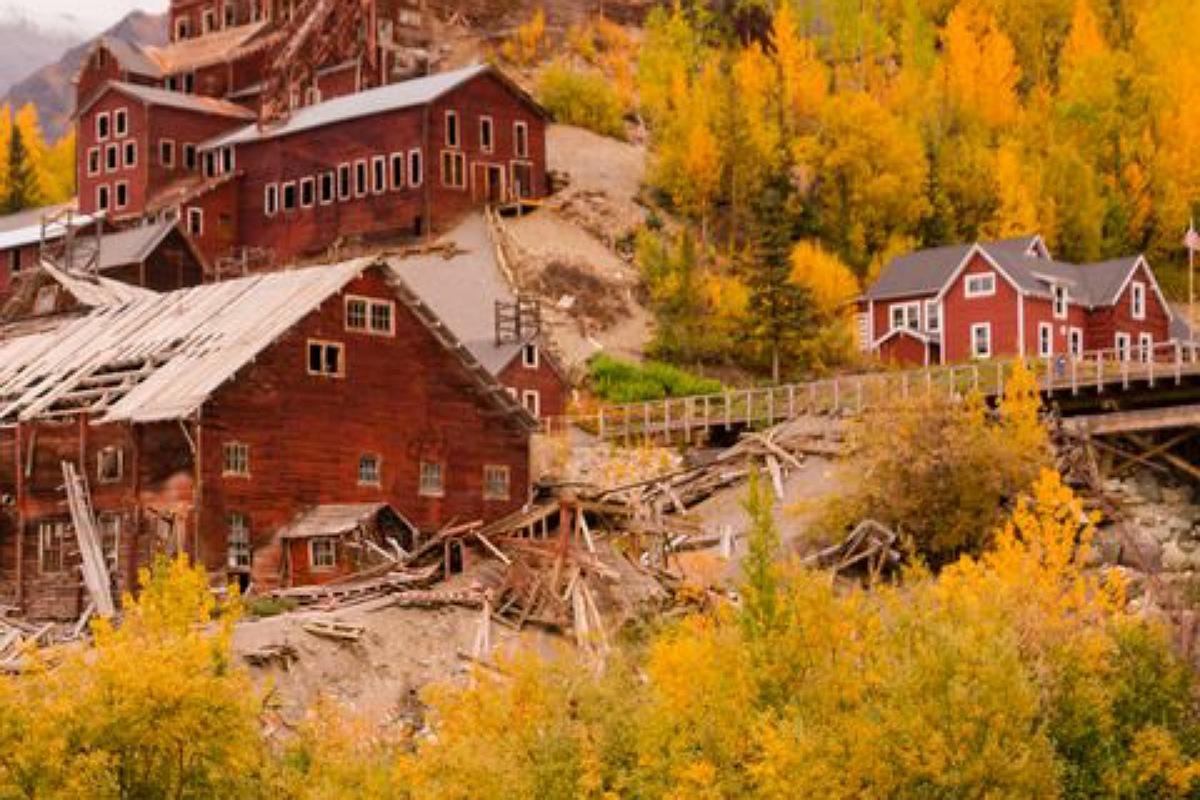مدينة كينيكوت Kennecott في ألاسكا