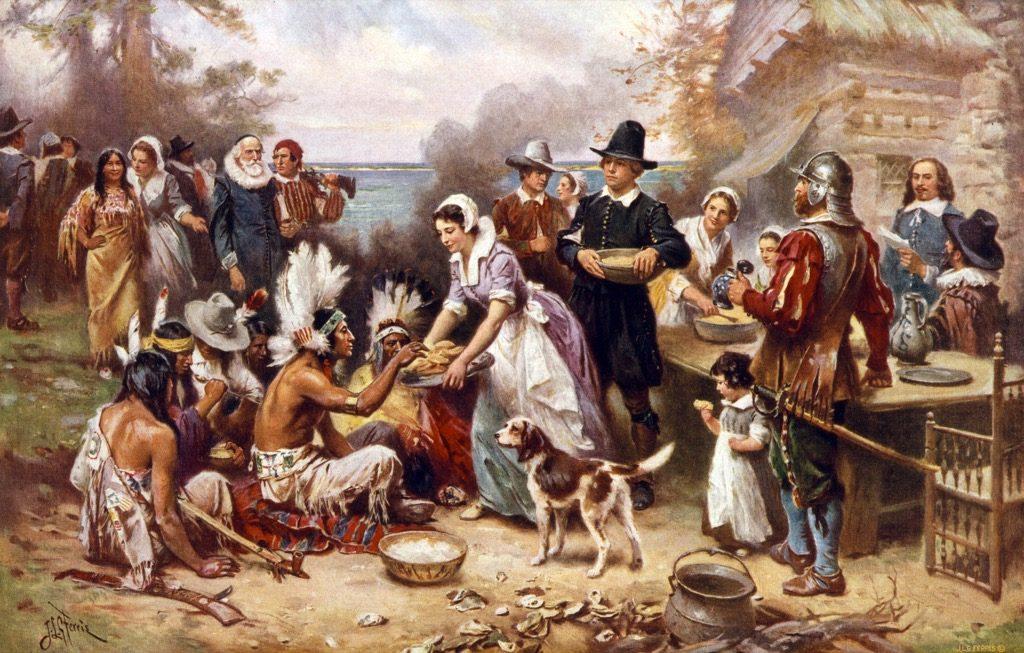 أول عيد شكر
