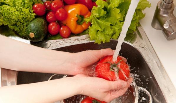 اغسل طعامك بشكل صحيح