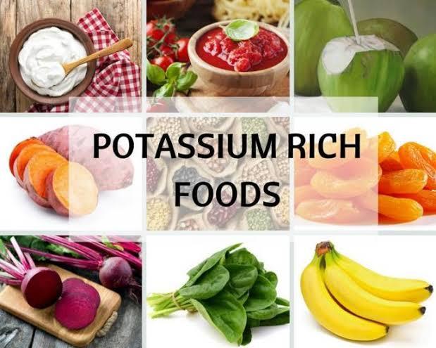 ما هي الأطعمة الغنية بالبوتاسيوم ؟