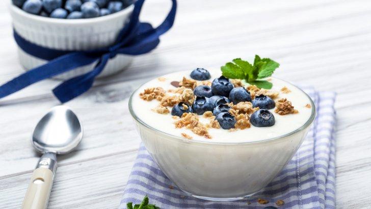 الأطعمة الغنية بفيتامين ب 12 : الزبادي