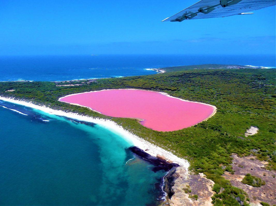الأماكن الأكثر غموضاً في العالم : بحيرة هيلير - غرب أستراليا