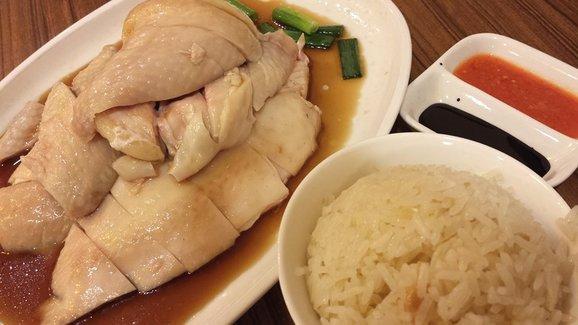 الأرز المعطر مع شرائح الدجاج