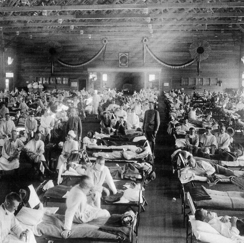 الأوبئة  على مر التاريخ