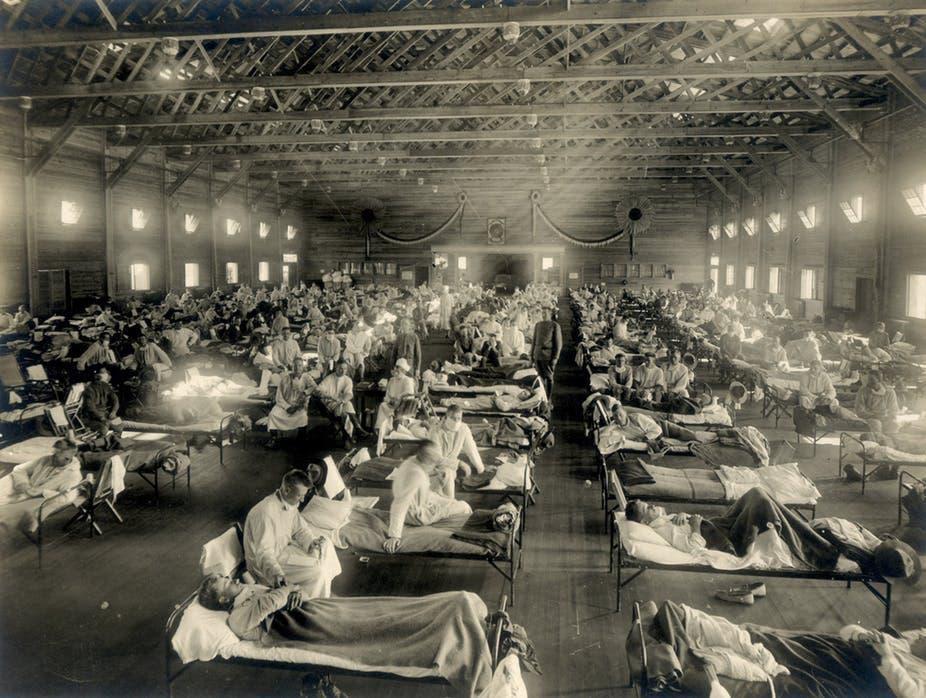 الإنفلونزا الأسبانية