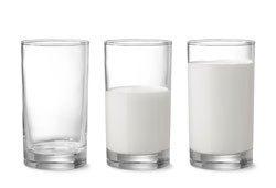 خضروات و فواكه مفيدة للصحة الحليب