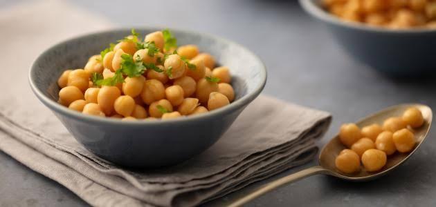 الحمص من أشهر الأطعمة الغنية بالحديد