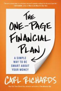 الخطة المالية من صفحة واحدة لكارل ريتشاردز