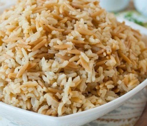 الرز بالشعرية