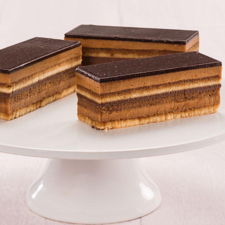 السعرات الحرارية و القيمة الغذائية لكيكة الأوبرا الفرنسية