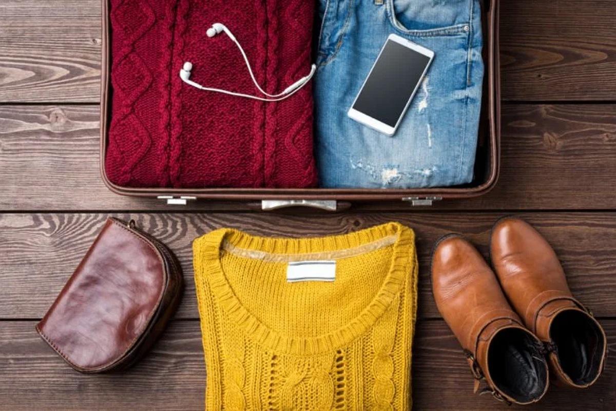 تنظيم اغراضك داخل الحقيبة حسب الوزن