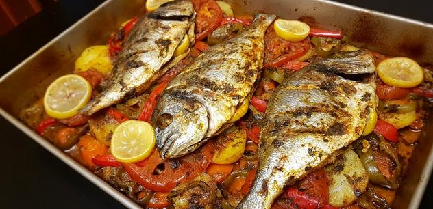 من وصفات السمك : السمك البلطي بالخضراوات
