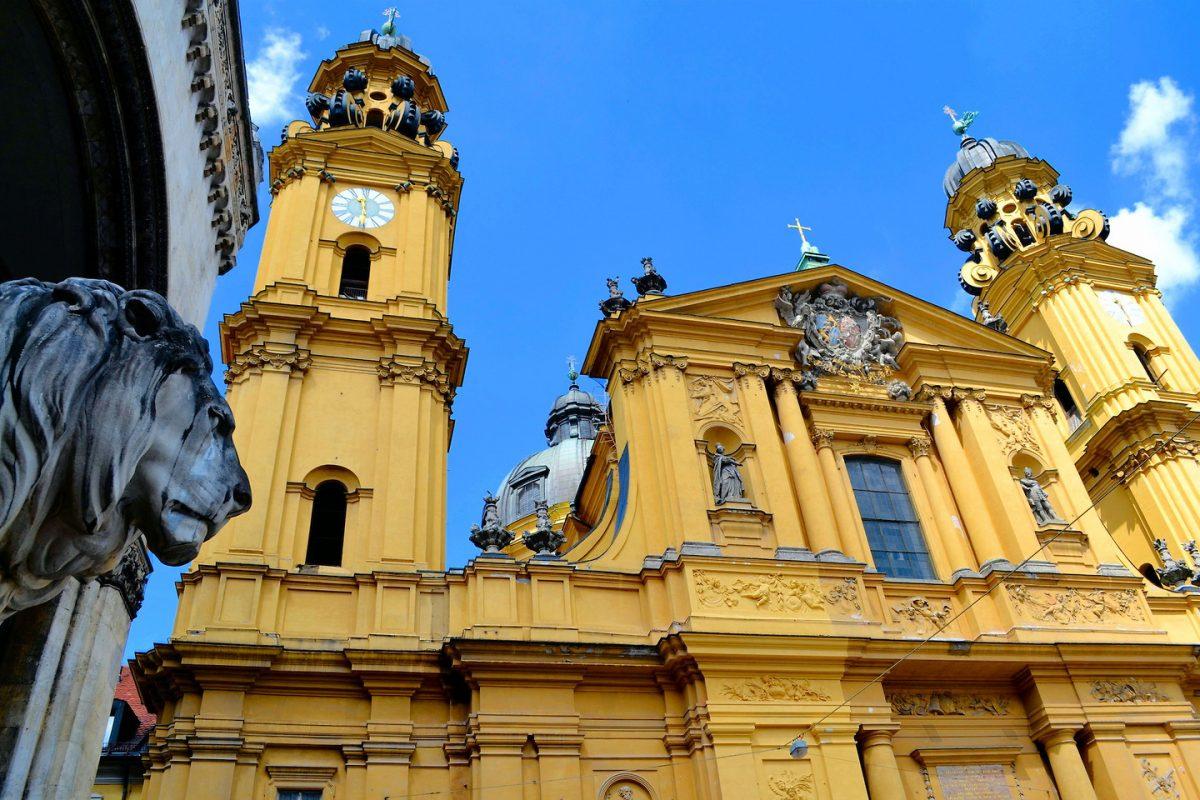 أفضل الأماكن السياحية في ميونخ : الكنيسة الثيتينية للقديس كاجيتان