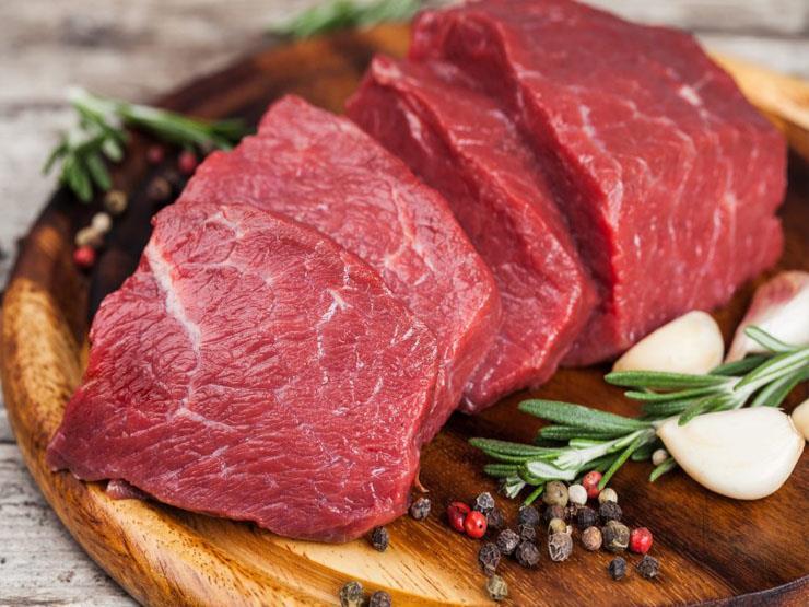 أفضل الأطعمة الغنية بالفسفور : اللحوم بأنواعها المختلفة