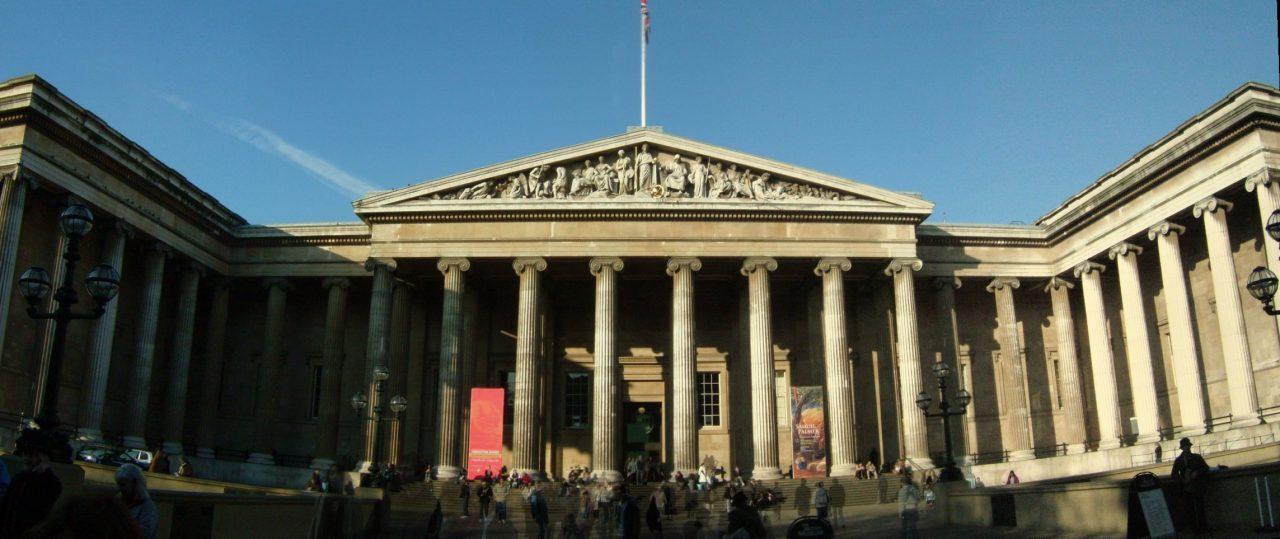 المتحف البريطاني من أفضل الأماكن السياحية في لندن أنجلترا