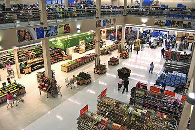 الهايبر ماركت أحد أشكال التسوق