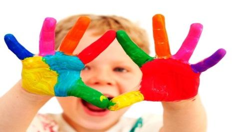 الألوان و الأطفال