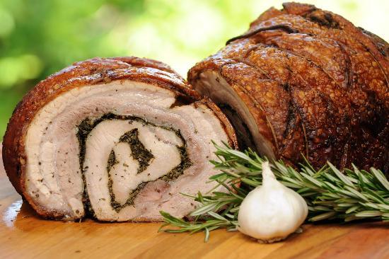 أشهر الأطعمة الإيطالية بورشيتا رومانا