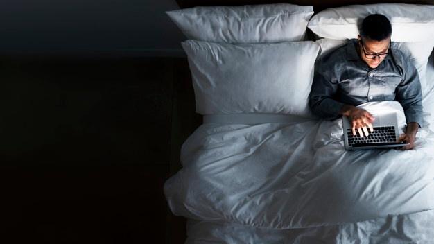 لا تجلس علي السرير طوال الوقت