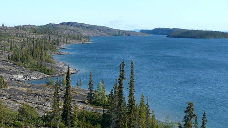 بحيرة جريت سليف أكبر ١٠ بحيرات في العالم