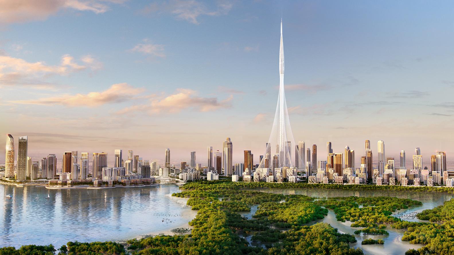 برج خور دبي اطول برج في العالم مقالات منصة القارئ العربى