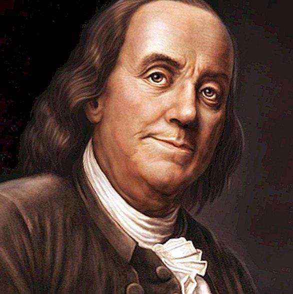 بنجامين فرانكلين  - اكتشف الكهرباء و اخترع موقد فرانكلين