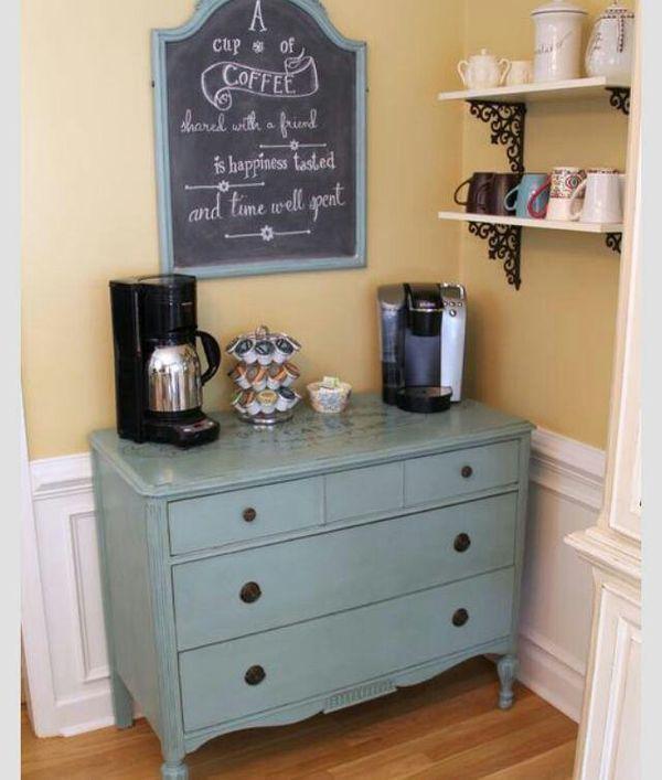 8 أفكار عصرية لتصميم ركن القهوة