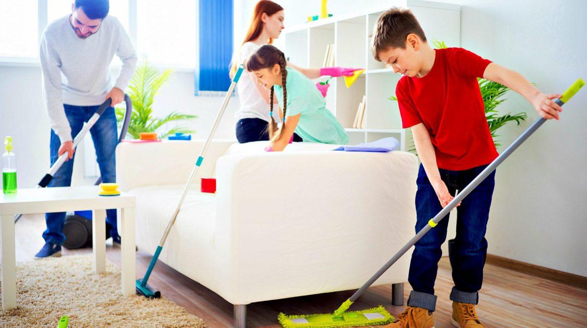 اساسيات تنظيف المنزل و الأسرة