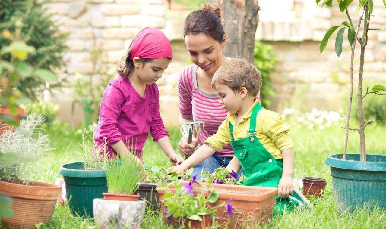 تعلم الزراعة للأطفال
