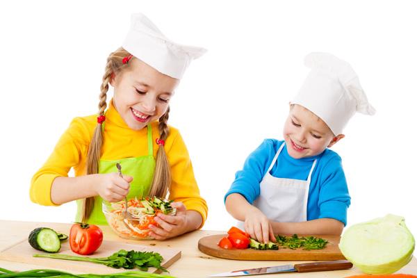 تعلم الطبخ للأطفال