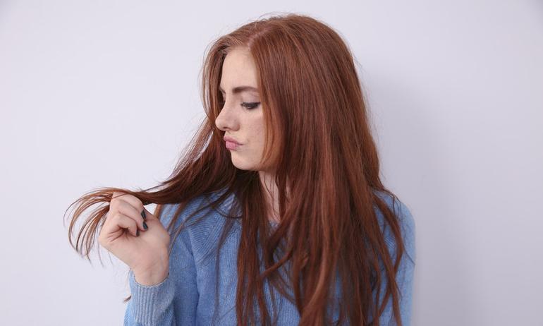 وصفات لعلاج تقصف أطراف الشعر
