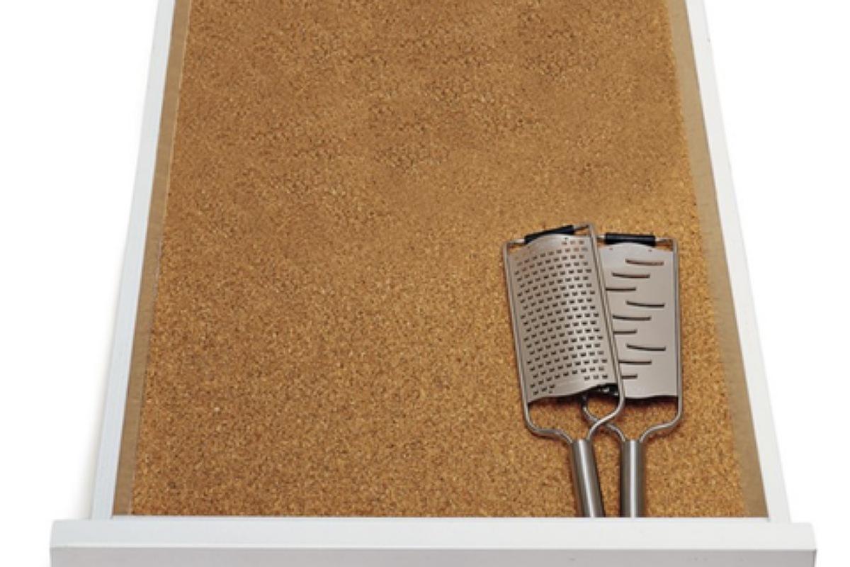 أدوات تنظيم المطبخ : بطانة درج الفلين
