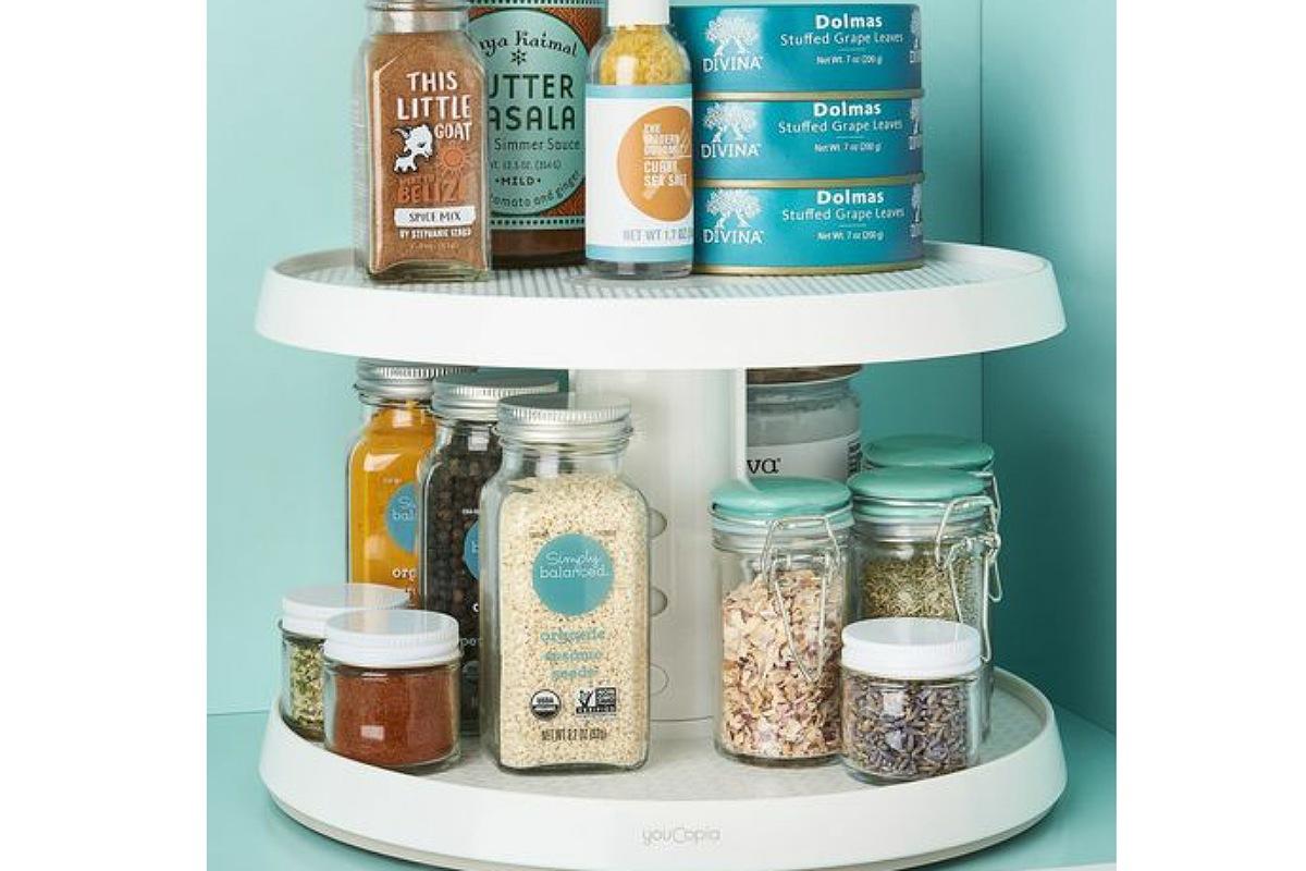 أدوات تنظيم المطبخ : القرص الدوار