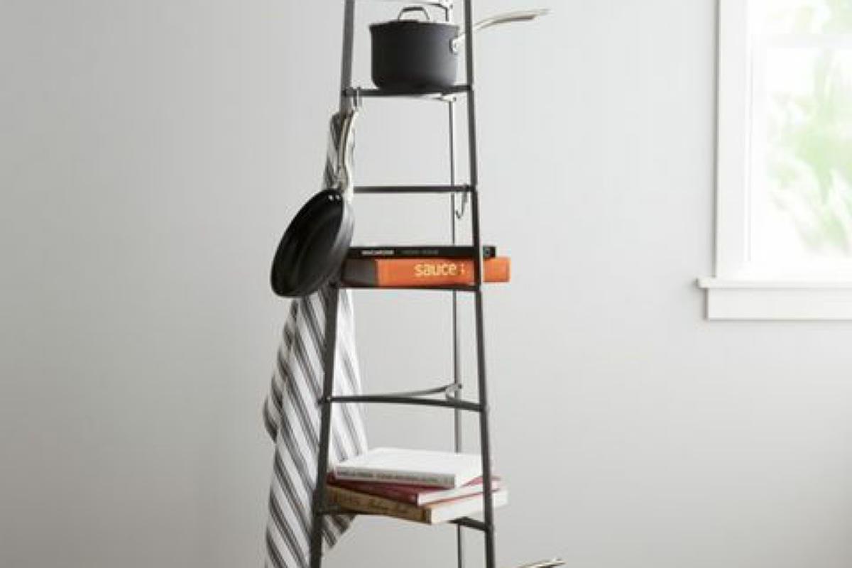 أدوات تنظيم المطبخ : حامل طبقات لأواني الطهي