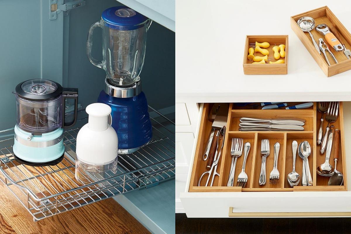 أدوات تنظيم المطبخ