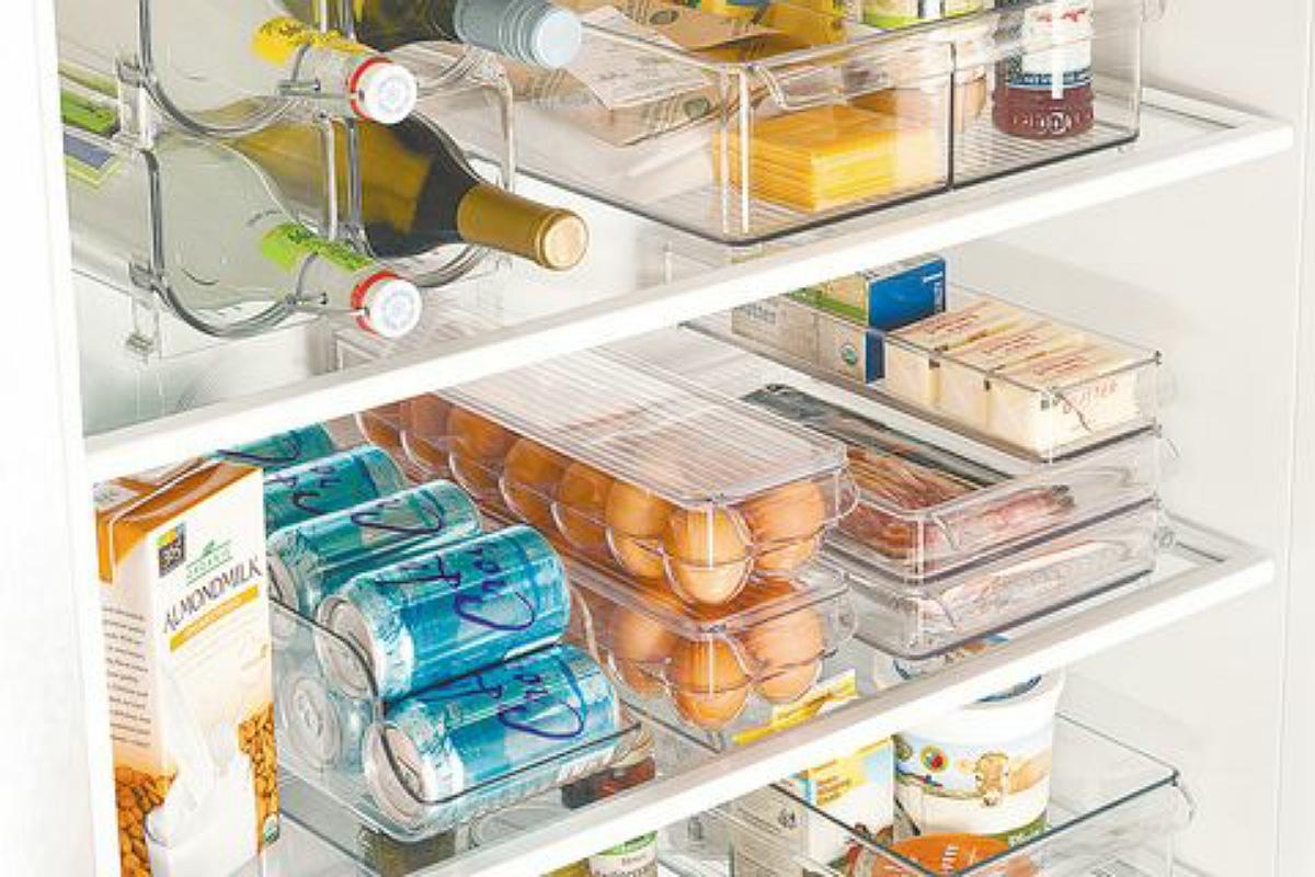 أدوات تنظيم المطبخ : مجموعة تنظيم الثلاجة