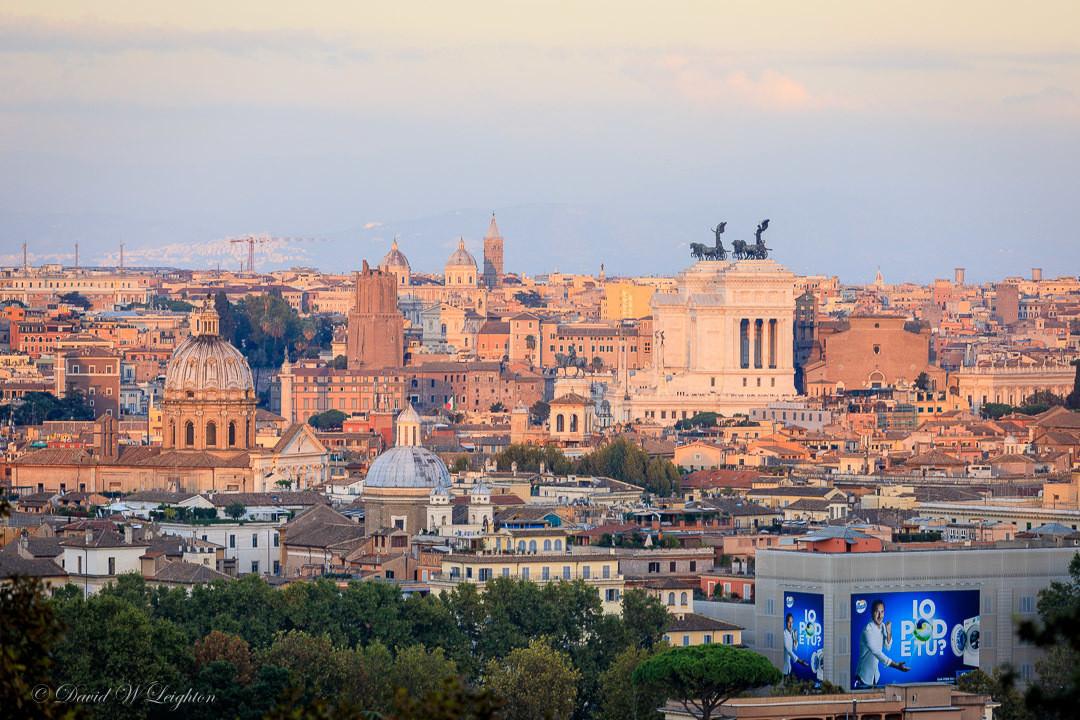 أفضل الأماكن السياحية في روما : جانيكوم تيراس