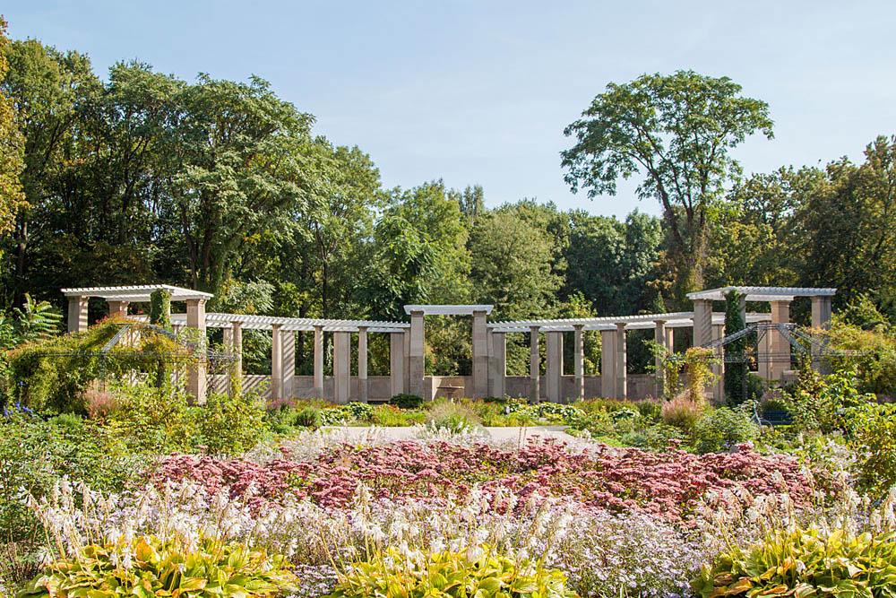 حديقة الورود في برلين ألمانيا