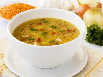 حساء الخضار بالشوفان