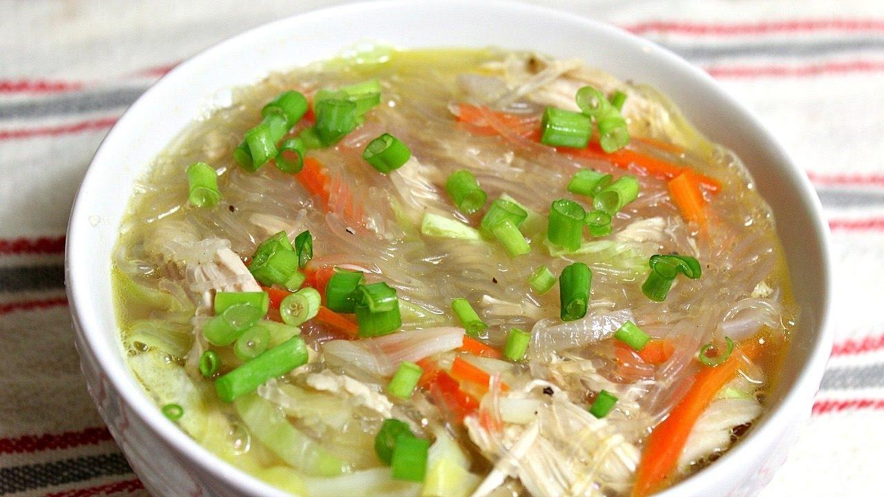 حساء سوتانغ الدجاج الفلبيني