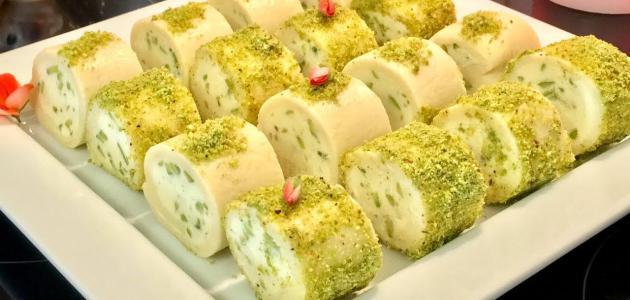 حلاوة الجبن اللبنانية من حلويات رمضان