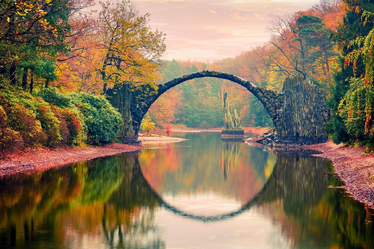 خدعة بصرية طبيعية : جسر راكوتزبروك ديفلز