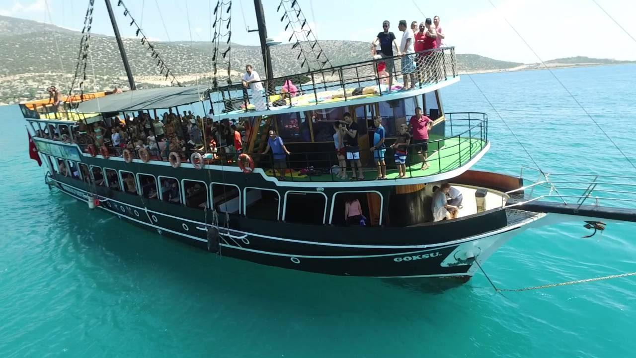 خليج بوجساك السياحي في مرسين