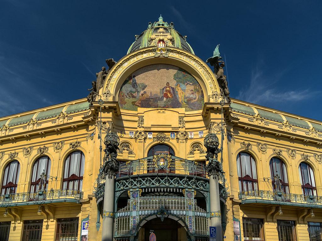 المناطق السياحية في براغ : دار البلدية براغ