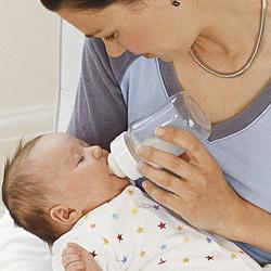 زجاجة الرضاعة