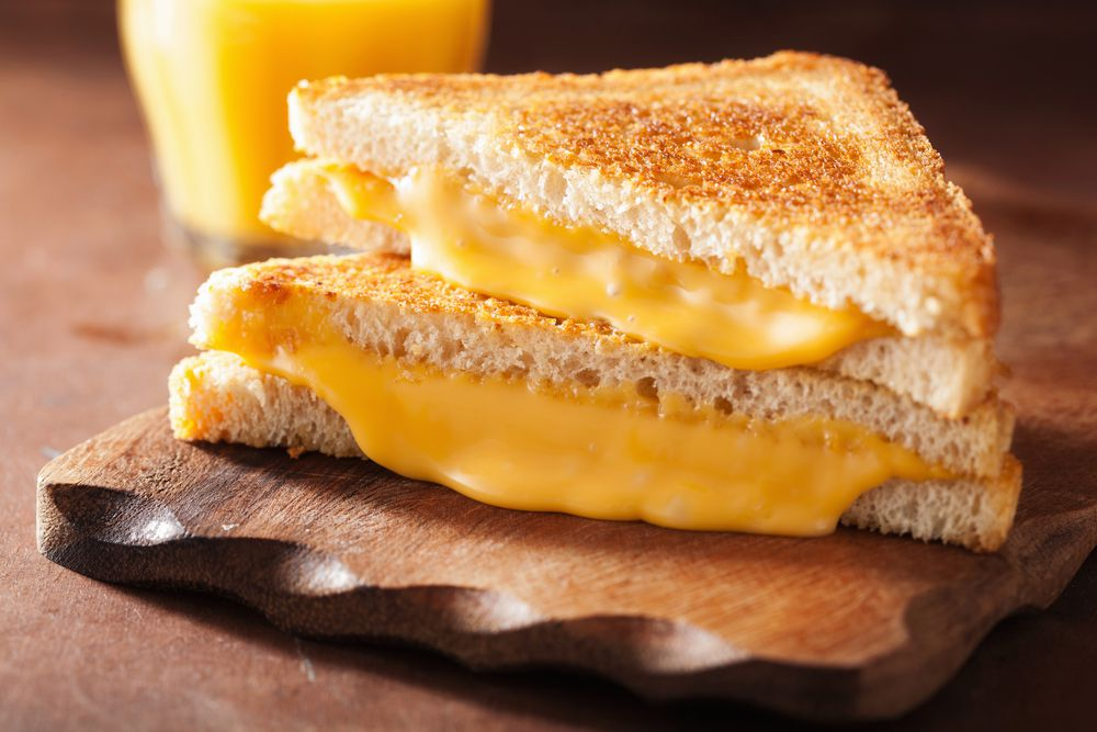 سندوتش الجبن المشوي الأمريكي