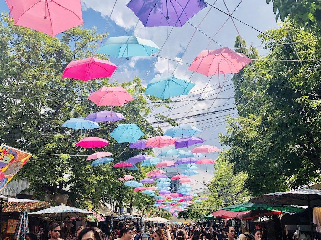 سوق تشاتوتشاك - بانكوك تايلاند